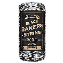 Buy East of India Bakers Twine, 200m, Black Online at johnlewis.com