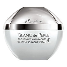 Buy Guerlain Blanc de Perle Whitening Night Cream, 50ml Online at johnlewis.com