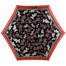 Buy Radley Fleet Street Mini Umbrella, Black/Multi Online at johnlewis.com