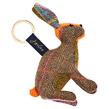 Buy Joules Tweedle Hare Novelty Keyring, Multi Online at johnlewis.com