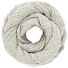 Buy John Lewis Cashmere Cable Snood Online at johnlewis.com