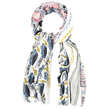 Buy White Stuff Maria Patchwork Bird Scarf, Multi Online at johnlewis.com