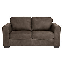 Buy John Lewis Cooper Medium Leather Sofa with Dark Legs Online at johnlewis.com
