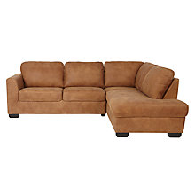 Buy John Lewis Cooper RHF Corner End Sofa, Masai Brown Online at johnlewis.com