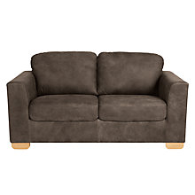 Buy John Lewis Cooper 2 Seater Leather Sofa, Light Leg Online at johnlewis.com