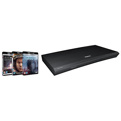 Samsung UBD-K8500 4K UHD Blu-Ray Player, Black