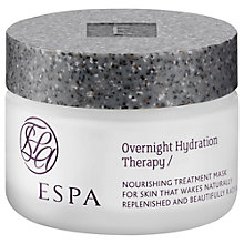 Buy ESPA Overnight Hydration Therapy, 55ml Online at johnlewis.com