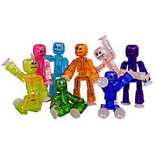 Buy StikBots, Assorted Colours Online at johnlewis.com