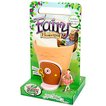 Buy My Fairy Garden Fairy Flowerpot Online at johnlewis.com