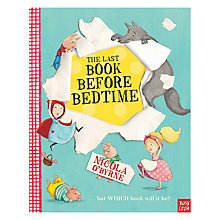 Buy The Last Book Before Bed Online at johnlewis.com