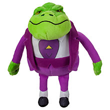 Buy Danger Mouse Baron Greenback Talking Soft Toy Online at johnlewis.com