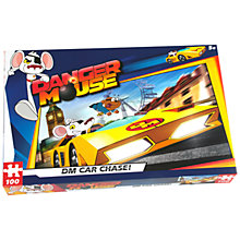 Buy Danger Mouse Car Chase 100 Piece Jigsaw Puzzle Online at johnlewis.com