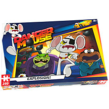 Buy Danger Mouse Explosion 250 Piece Jigsaw Puzzle Online at johnlewis.com