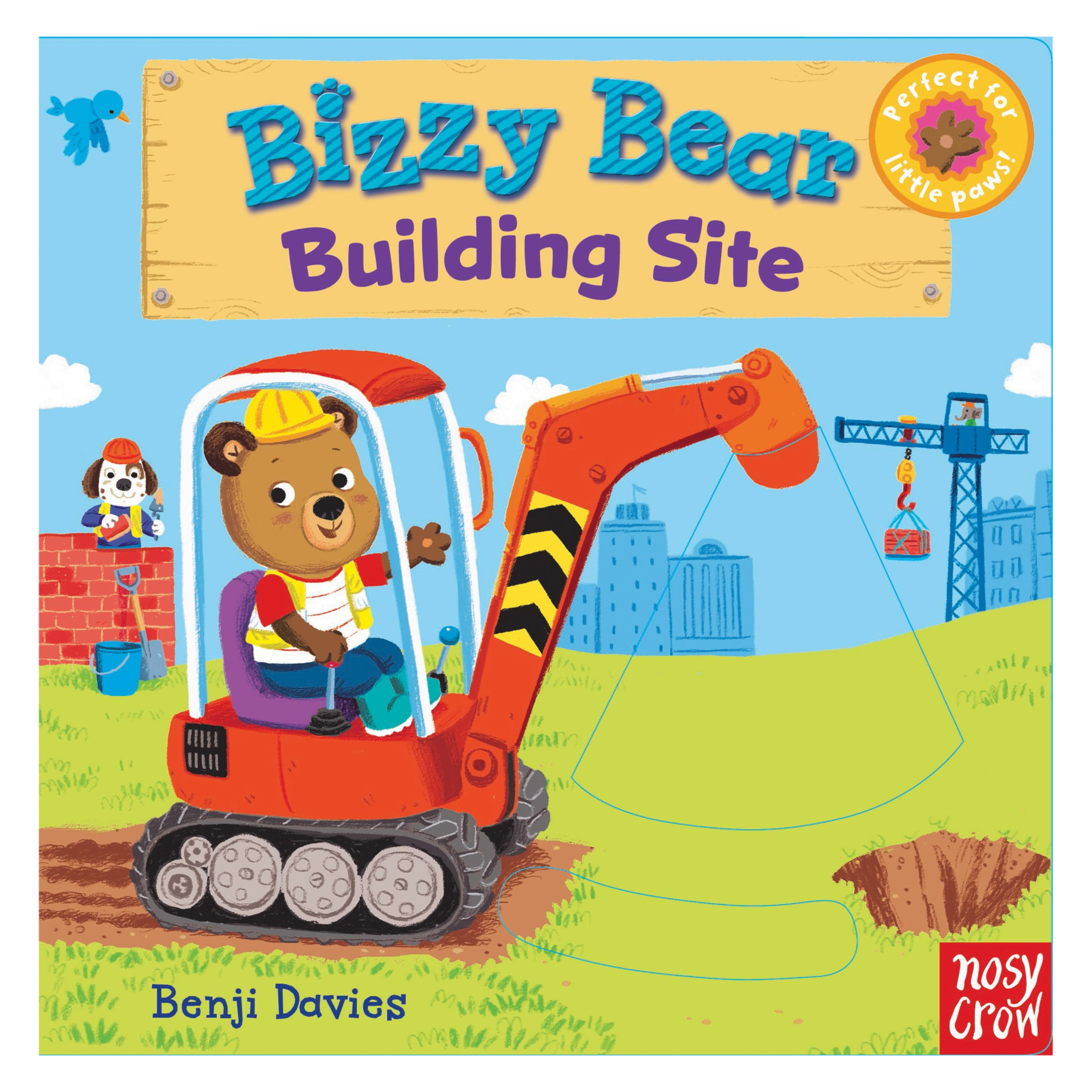 Nosy Crow Bizzy Bear Building Site Children's Book