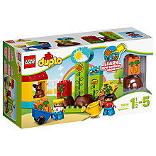 Buy LEGO DUPLO 10819 My First Garden Online at johnlewis.com