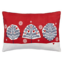 Buy John Lewis Chamonix Trio of Trees Cushion Online at johnlewis.com