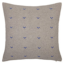 Buy House by John Lewis Chevron Cushion, Cobalt Online at johnlewis.com