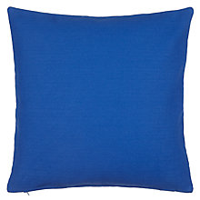Buy John Lewis Plain Cotton Cushion Online at johnlewis.com
