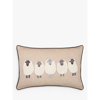 John Lewis Sheep Cushion