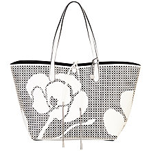 Buy Fiorelli Savannah Tote Bag, White Online at johnlewis.com