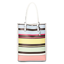 Buy Fiorelli Trixie Shopper Bag, White / Multi Online at johnlewis.com