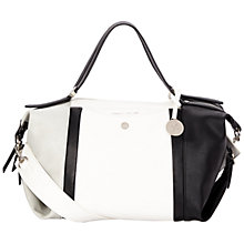 Buy Fiorelli Sinclair Shoulder Bag, White / Black Online at johnlewis.com