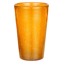 Buy John Lewis Handmade Highball, Light Orange Online at johnlewis.com