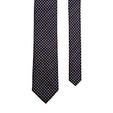 Buy Ted Baker Amee Silk Tie, Navy/Multi Online at johnlewis.com