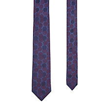 Buy Ted Baker Trenne Silk Tie, Purple/Blue Online at johnlewis.com