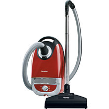 Buy Miele Complete C2 Cat & Dog PowerLine Vacuum Cleaner, Red Online at johnlewis.com