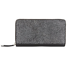 Buy Kin by John Lewis Liv Leather Medium Zip Around Purse Online at johnlewis.com