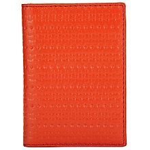 Buy Kin by John Lewis Liv Leather Card Holder, Orange Online at johnlewis.com