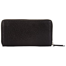 Buy Kin by John Lewis Olivia Leather Large Zip Around Purse Online at johnlewis.com