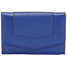 Buy John Lewis Emily Leather Medium Flap Over Purse Online at johnlewis.com
