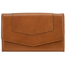 Buy John Lewis Emily Leather Extra Large Flap Over Purse Online at johnlewis.com