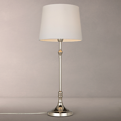 John Lewis Cleo Turned Candlestick Table Lamp