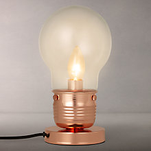 Buy House by John Lewis Watt Table Lamp Online at johnlewis.com