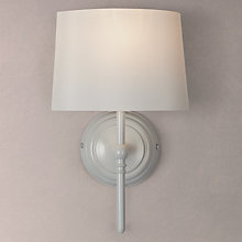 Buy John Lewis Isabel Wall Light, 1 Light, Grey Online at johnlewis.com