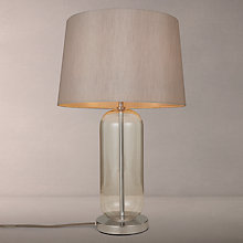 Buy John Lewis Lula Glass Touch Control Table Lamp, Chrome/Clear Online at johnlewis.com