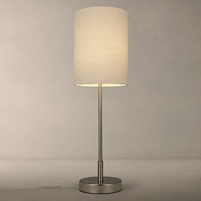 John Lewis Chrissie Table Lamp, Nickel