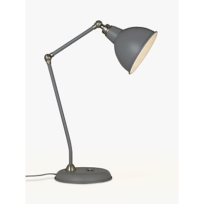 John Lewis Aiden Table Lamp, Satin Nickel