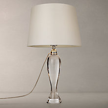 Buy John Lewis Geena Crystal Table Lamp, Cream Online at johnlewis.com