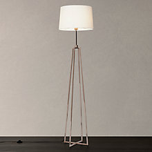 Metal floor lamps john lewis for Copper floor lamp john lewis