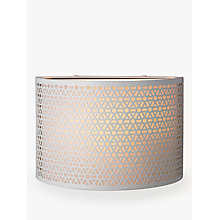 Buy John Lewis Meena Wall Light, White Online at johnlewis.com