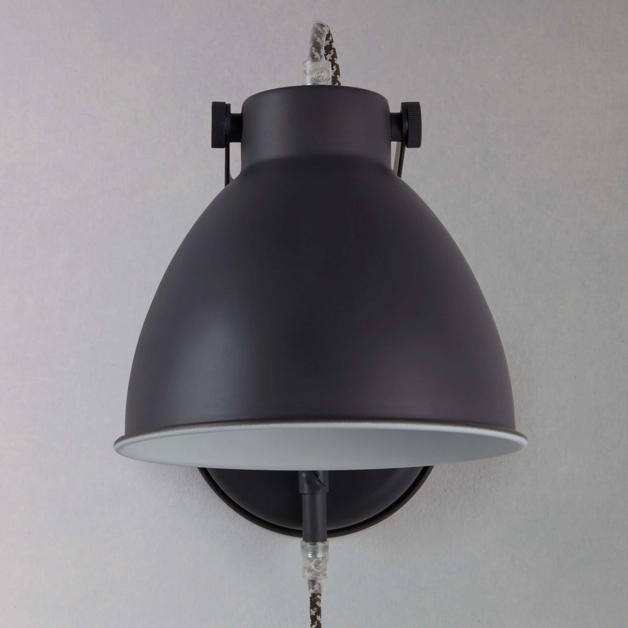 Wall Light With Cable : Buy John Lewis Norton Wall Light with Cable John Lewis