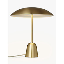 Buy Design Project by John Lewis No.053 LED Table Lamp, Satin Brass Online at johnlewis.com