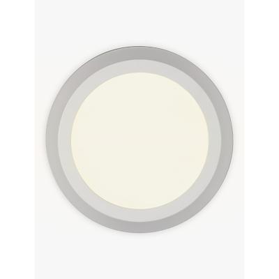 John Lewis Portella LED Flush Light, White