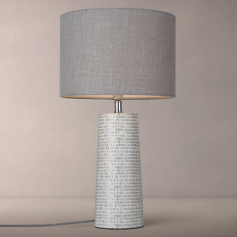 Buy John Lewis Minna Small Ceramic Cylinder Table Lamp