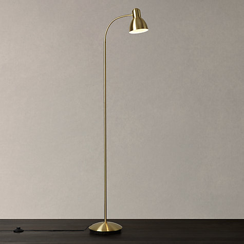Buy john lewis mykki led floor lamp john lewis for Montana floor lamp satin brass