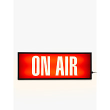 Buy John Lewis On Air Medium LED Light Box, Red Online at johnlewis.com